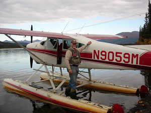Bush flights to Peace of Selby Wilderness in the Brooks Range of Alaska