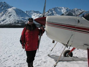 Unique alaska winter vacation experiences in Alaska's Brooks Range, north of the Arctic Circle, at Peace of Selby Wilderness Lodge.